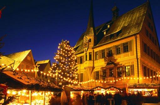 Weihnachtsmärkte in der Region Stuttgart