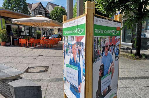 Bekenntnisse zum Einkaufsstandort Fellbach