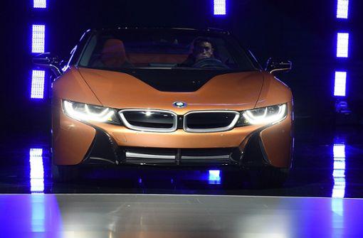 BMW will an die Spitze der Elektroauto-Hersteller
