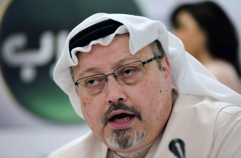 Der saudische Journalist und Regimekritiker Jamal Khashoggi – wurde er in einem ausgeuferten Streit getötet oder von einem Killerkommando bestialisch ermordet? Riad verbreitet die erste Version. Foto: AP