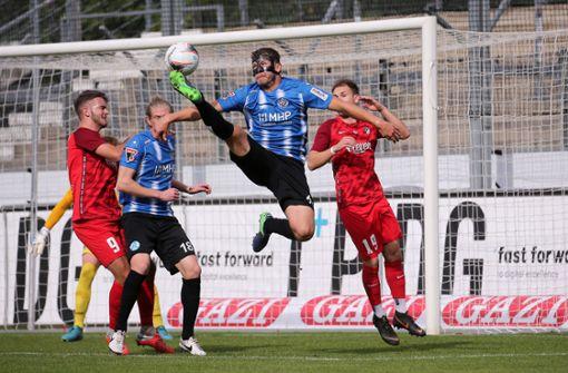 Aufregung um Abseits – Stuttgarter Kickers spielen gegen TSV Ilshofen nur 2:2