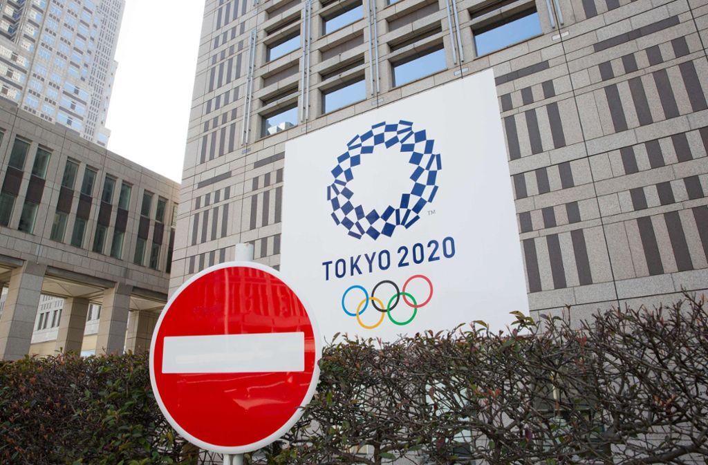 Die Sommerspiele von Tokio werden nicht 2020 stattfinden, sondern wurden wegen der Corona-Pandemie in den Sommer des kommenden Jahres verlegt. Foto: dpa/Stanislav Kogiku