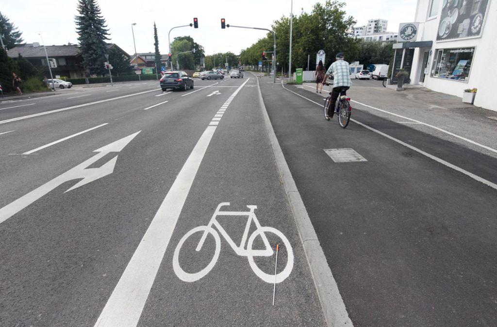Das Radfahren in Böblingen birgt Kuriositäten und ist keineswegs frei von Gefahren. Foto: factum/