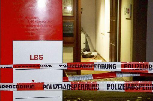 Bankautomatensprenger droht lange Haftstrafe