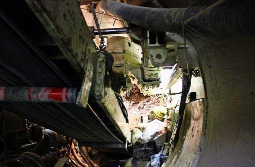 EnBW bohrt Tunnel unterm Pragsattel