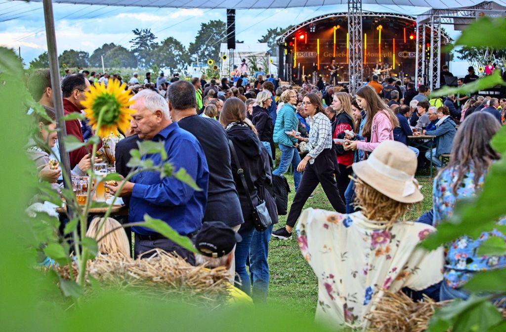 In Aichwald gibt es eine einmalige Festival-Atmosphäre. Foto: Michael Steinert