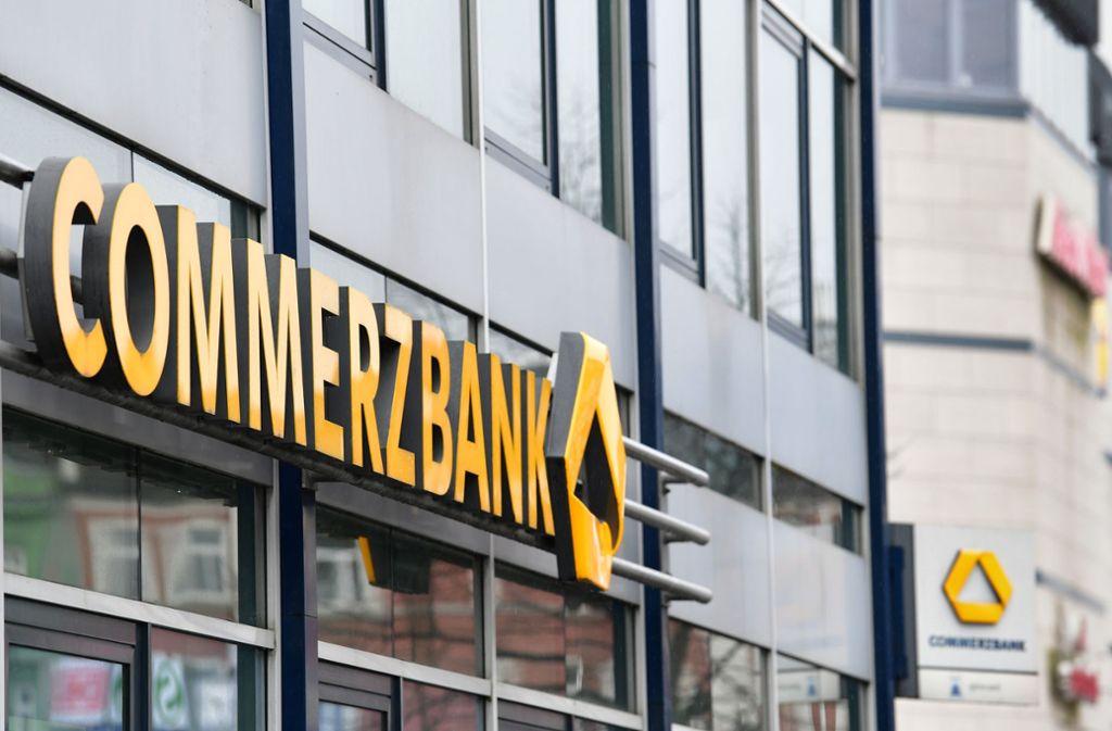 Die Commerzbank hat einen kräftigen Gewinnsprung hingelegt. Foto: dpa