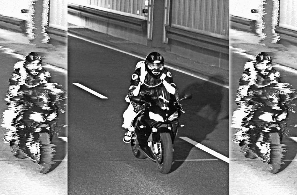 Schneller als die Polizei erlaubt:  Die Bilder stammen aus einer Münchner Radaranlage, kommen den Ludwigsburgern Ermittlern aber nur zu vertraut vor. Foto: Polizeipräsidium München/Archiv