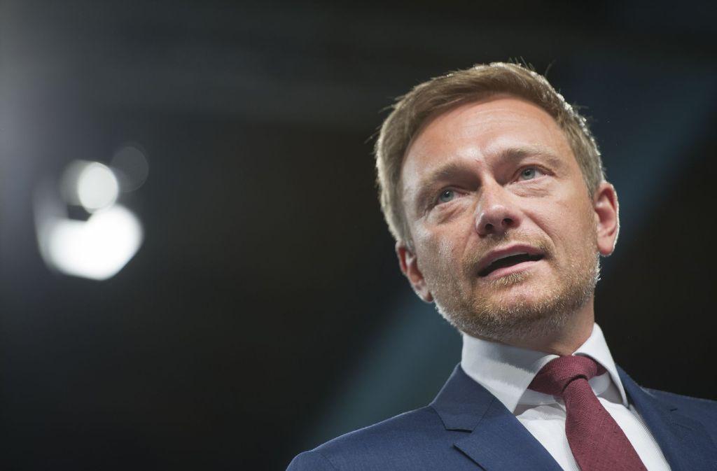FDP-Chef Christian Lindner zieht in den Bundestagswahlkampf. Foto: Getty Images Europe