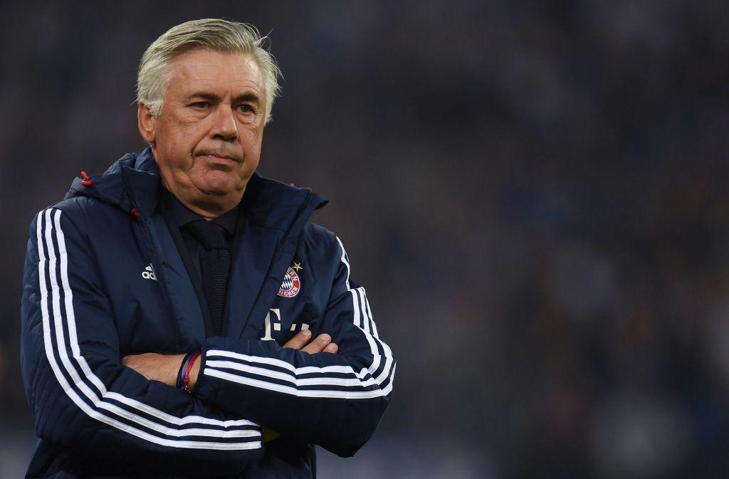Sind nicht richtig warm miteinander geworden: Carlo Ancelotti und der FC Bayern München. (Archivfoto) Foto: AFP