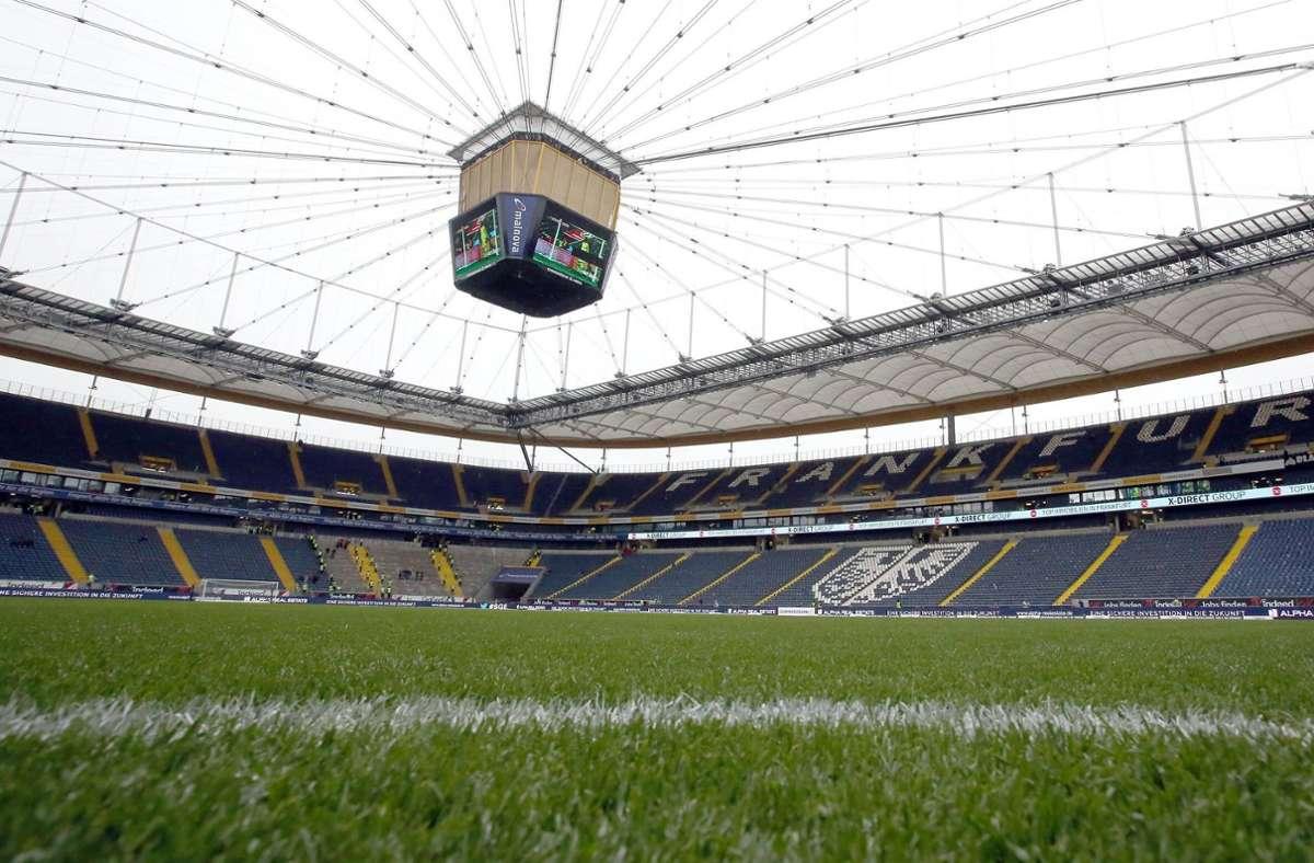 25.000 Zuschauer dürfen ins Frankfurter Stadion. Foto: imago images/Sportfoto Zink