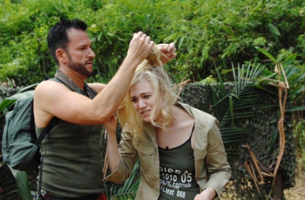 Michael Der Wendler Wendler und Larissa Marolt harmonierten im Dschungelcamp ganz gut - bis der Schlagersänger das Handtuch warf. Foto: RTL | Ich bin ein Star - Holt mich hier raus! im Special bei RTL.de