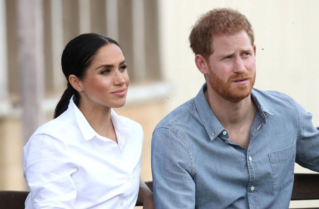 Herzogin Meghan und Prinz Harry erwarten ihr erstes Kind. Foto: PA Wire
