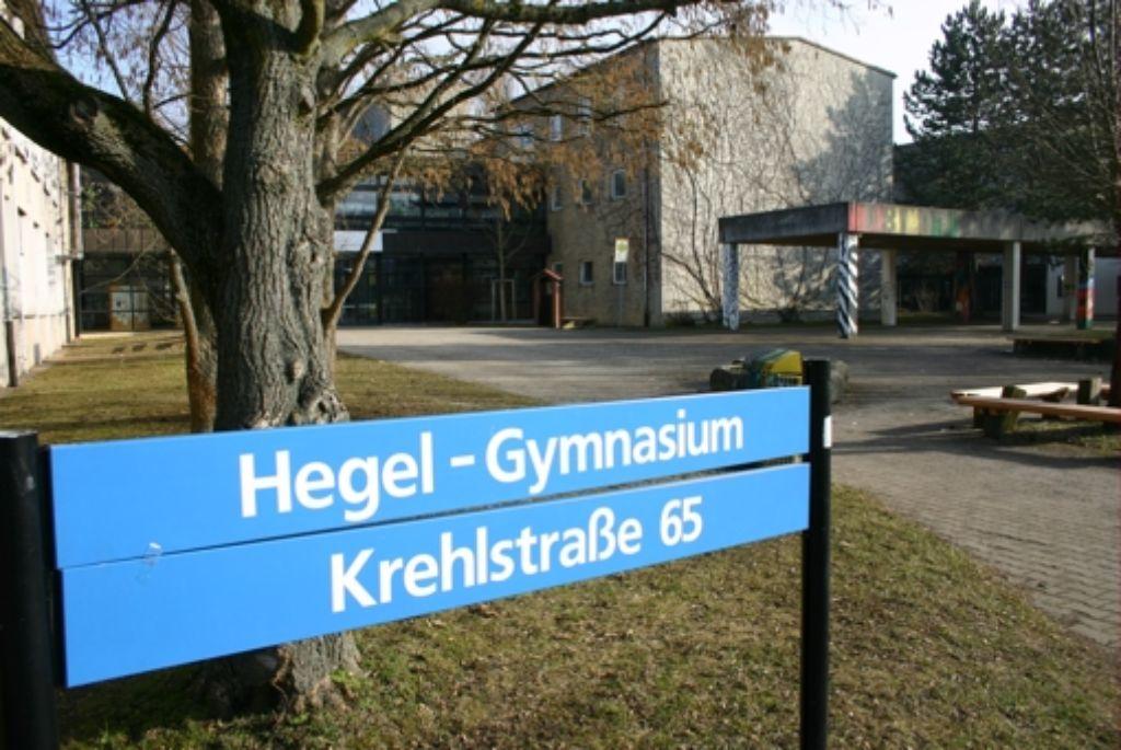 Am Hegel-Gymnasium steht die Sanierung auf dem Prüfstand. Foto: Archiv Kai Müller
