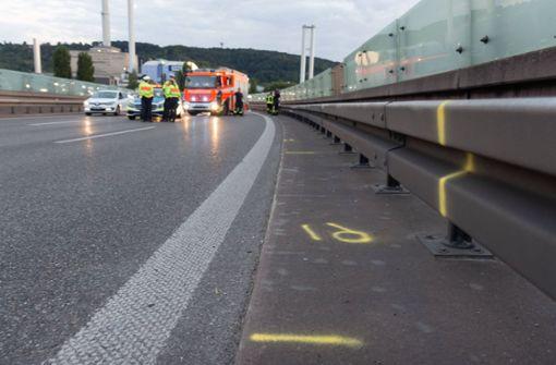 31-jähriger Motorradfahrer bei Unfall auf B14 schwer verletzt