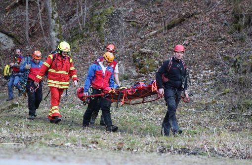 Wanderer überlebt Sturz aus 30 Meter Höhe