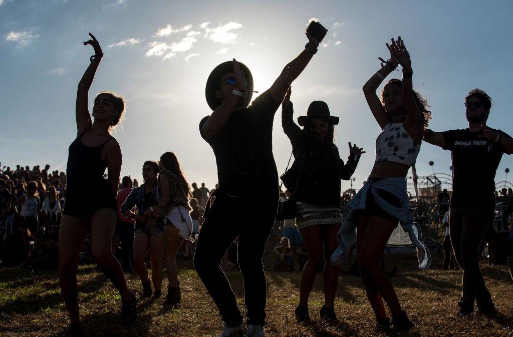 Ausgelassene Stimmung gibt es beim Festival in Brasilien. Foto: Getty