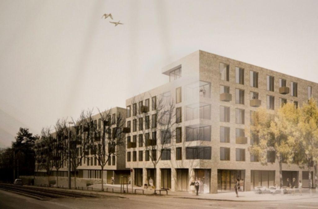 Blick von der Ecke Eckartstraße auf das bis 2015 entstehende neue Wohnquartier an der Nordbahnhofstraße. Foto: Steinert