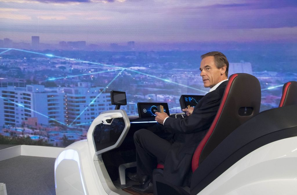 Elektromobilität ist ein wichtiges Zukunftsthema auch für Bosch-Chef Volkmar Denner. Foto: AFP