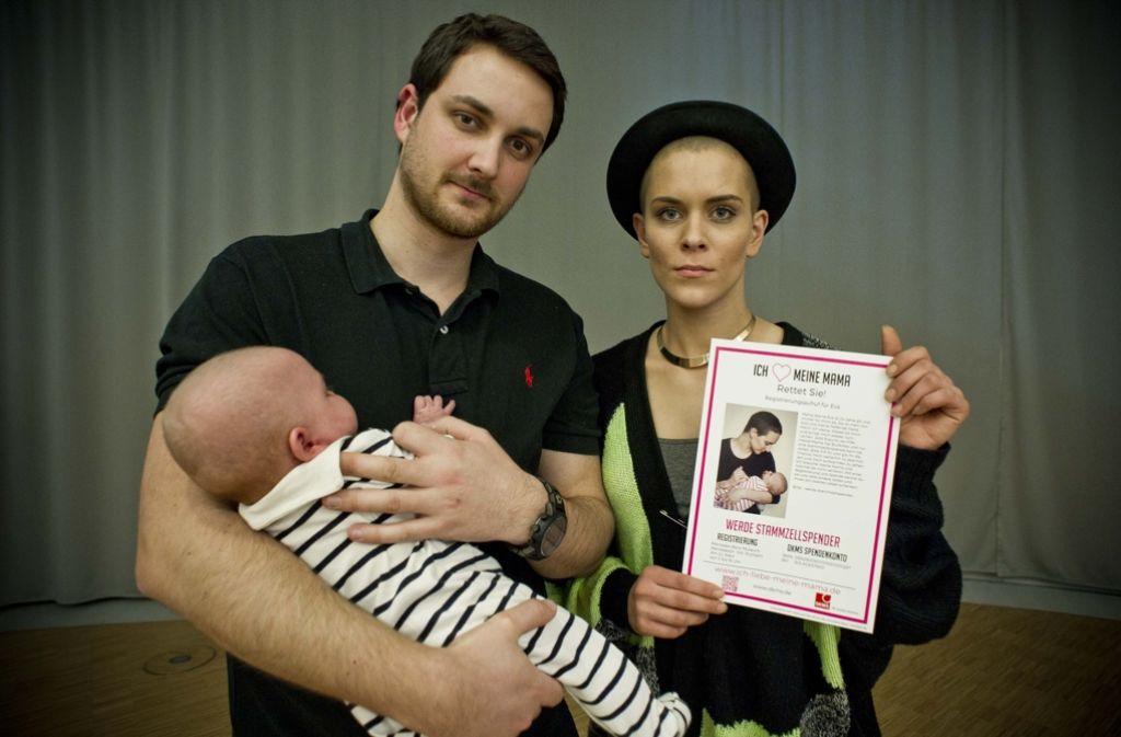 Eva Fidler erkrankte Anfang 2015 an Leukämie. Tausende Stuttgarter ließen sich typisieren, um einen Stammzellspender zu finden. Foto: Lichtgut/Max Kovalenko