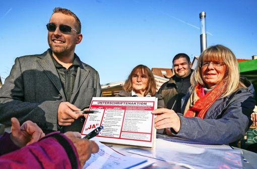 Pro Minute eine Stimme gegen die Hesse-Bahn