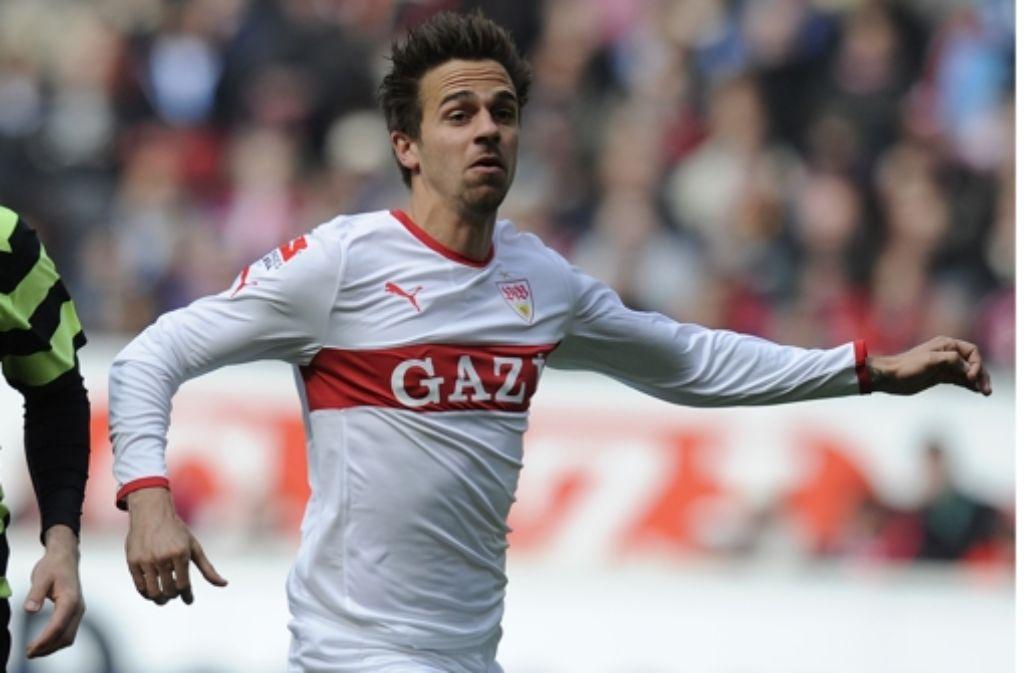 Martin Harnik erzielt beim 4:1-Sieg gegen seinen Ex-Club Bremen zwei Tore. Foto: dapd