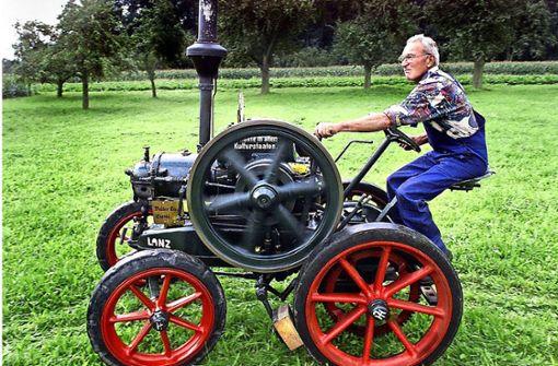 Der Retter  alter Traktoren