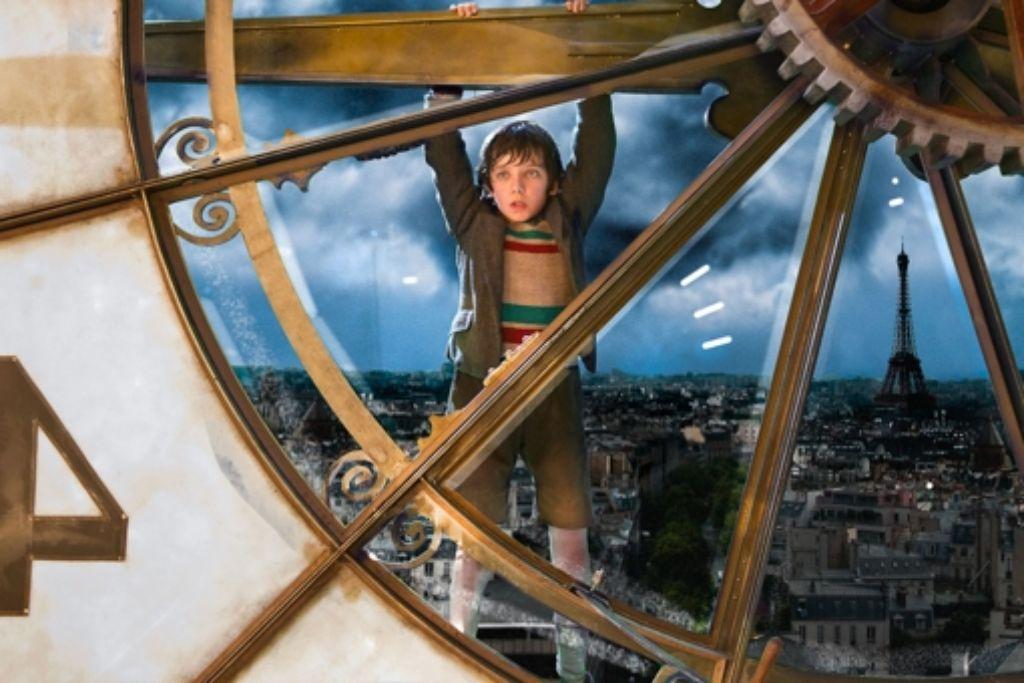 Die Uhr hing im US-Filmstudio, das Stadtbild kam aus Stuttgarter Rechnern. Foto: Verleih