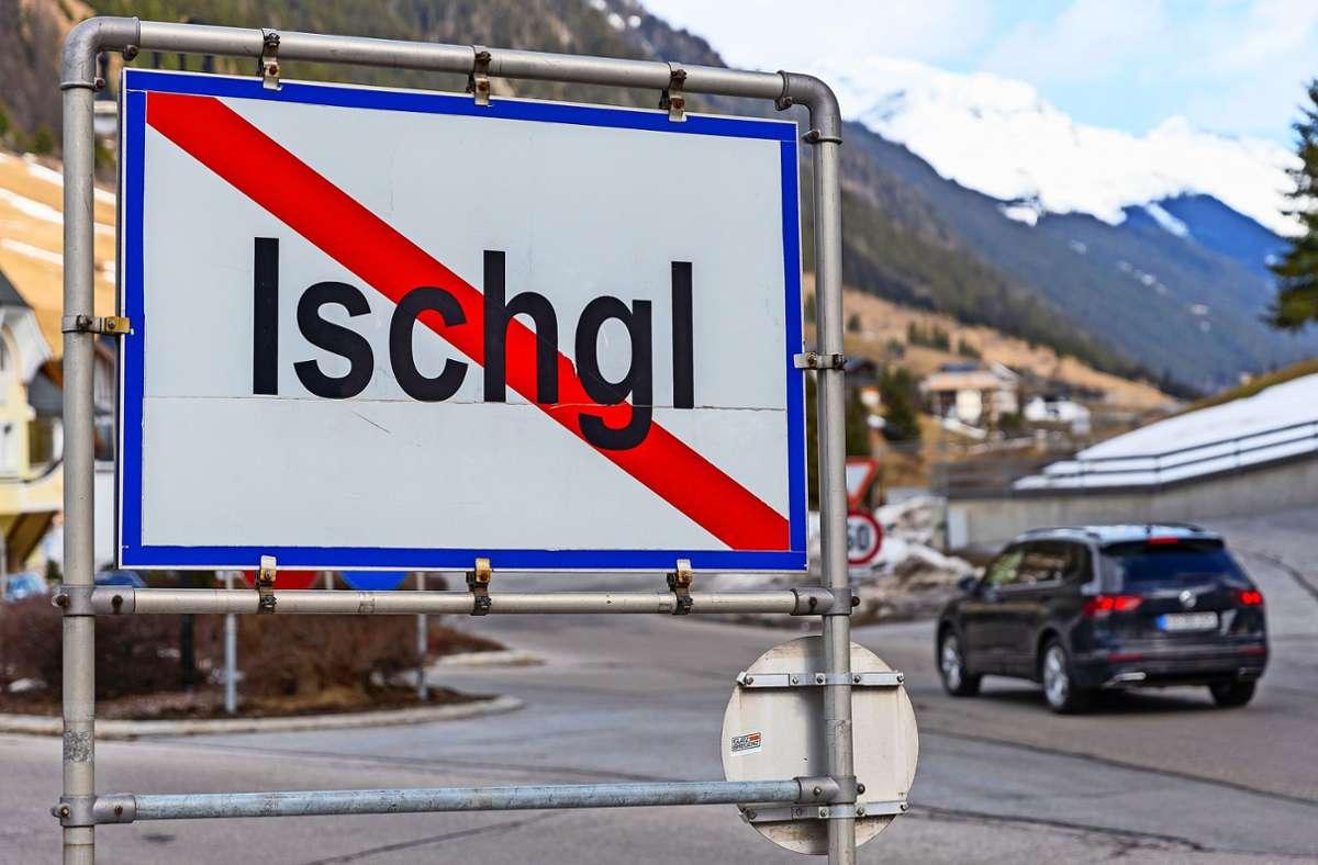Der Tiroler Skiort Ischgl war im März ein Hotspot für Corona-Infektionen in ganz Europa gewesen. Foto: picture alliance/dpa/Jakob Gruber