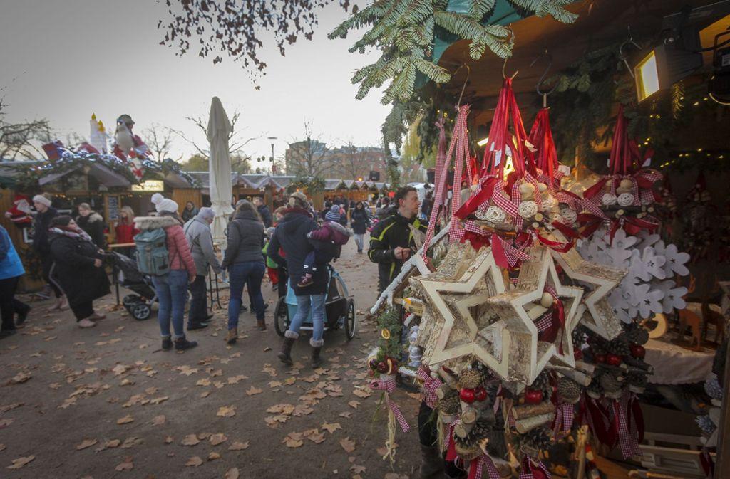 Eröffnet: der Böblinger Weihnachtsmarkt Foto: factum/Bach