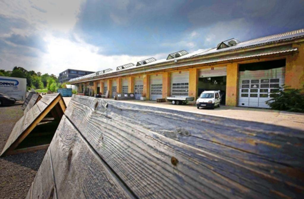 Es knirscht im Gebälk des Vorzeigeprojekts Wagenhallen. Foto: Michael Steinert
