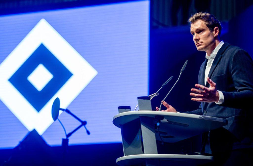 Marcel Jansen hat den Posten beim HSV mit einer deutlichen Mehrheit bekommen. Foto: dpa