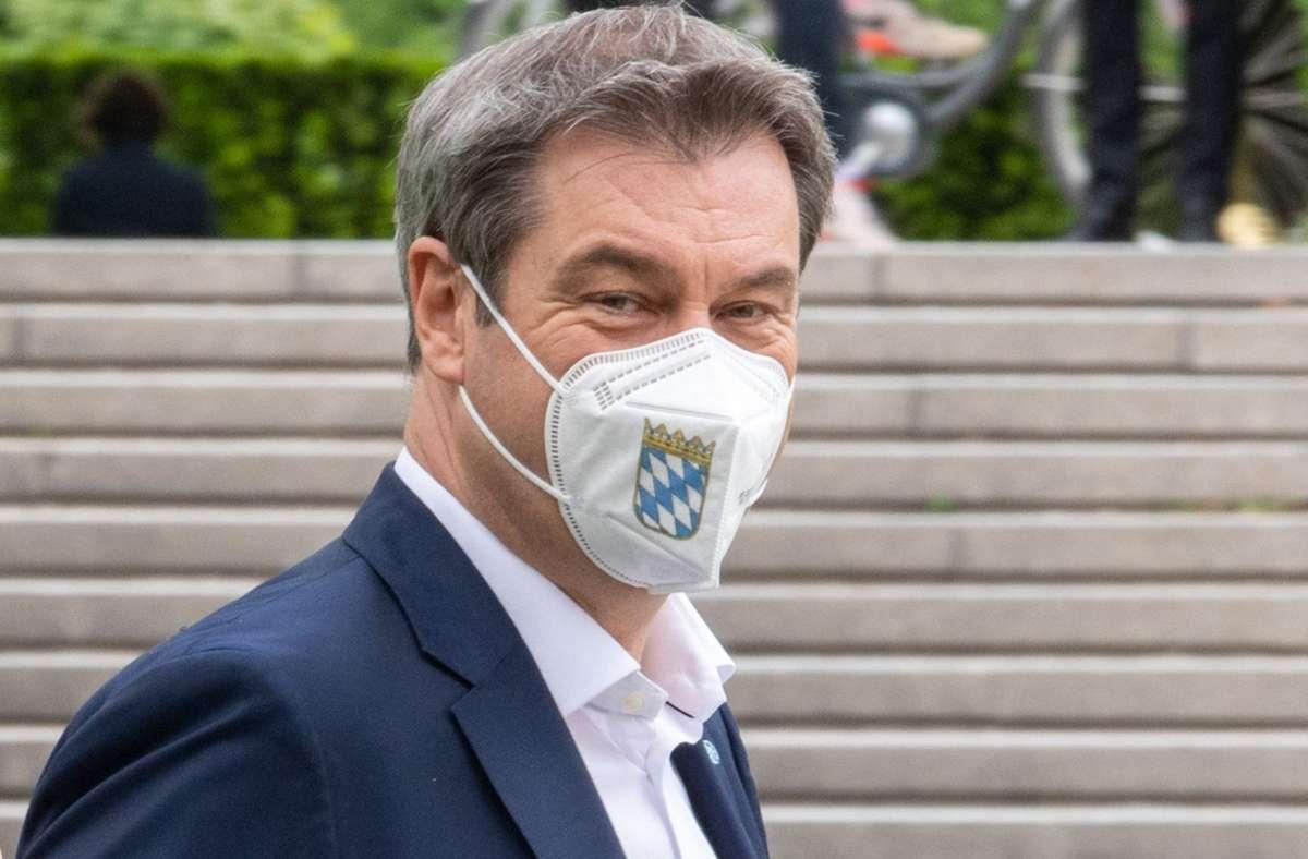 Markus Söder kündigt eine neue Coronaverordnung für Bayern an. (Archivbild) Foto: dpa/Peter Kneffel