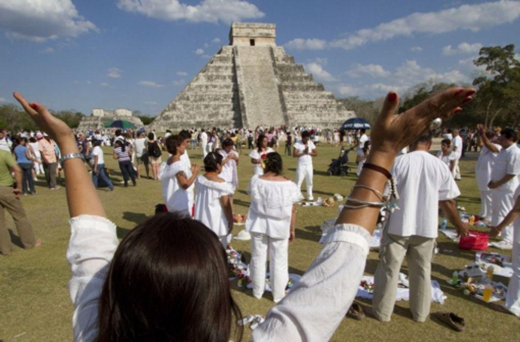 Ob der Weltuntergang nach dem Maya-Verdikt kommt, ist noch offen. Foto: LKZ