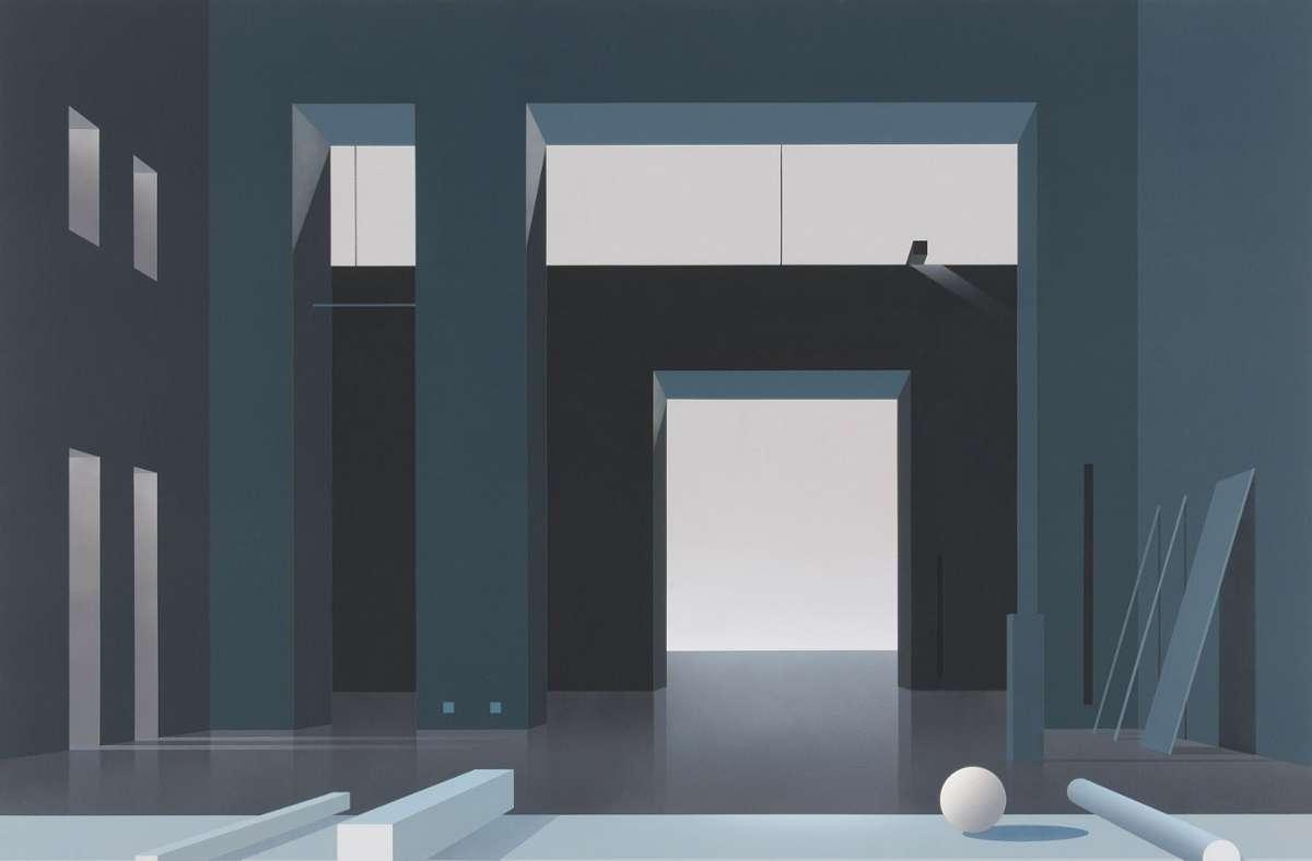 """""""Raumverloren"""" heißt die Ausstellung mit Arbeiten von Ben Willikens, die ab dem Wochenende im Schloss Dätzingen zu sehen ist Foto: Galerie Schlichtenmaier/Schlichtenmaier"""