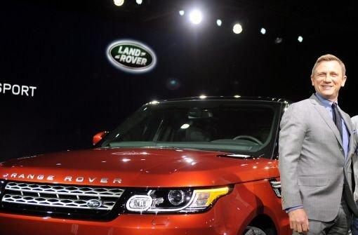 Daniel Craig stellt den Range Rover Sport vor
