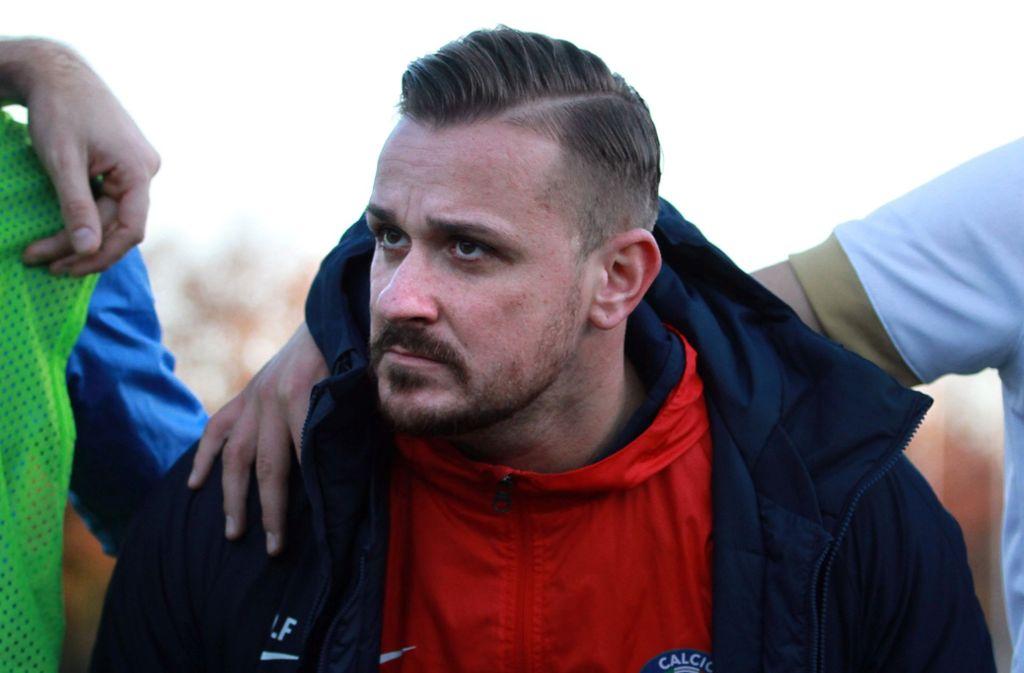 Der Trainer Francesco Di Frisco hofft auf einen wenigstens versöhnlichen  Abschluss. Foto: Yavuz Dural