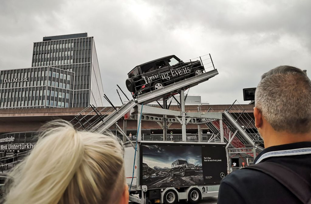 Beim Mercedes-Familientag gab's auch Spektakuläres zu sehen.Foto:Lichtgut/Max Kovalenko Foto: