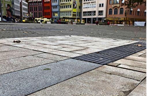 Marktplatz-Belag sorgt weiter für Diskussionen