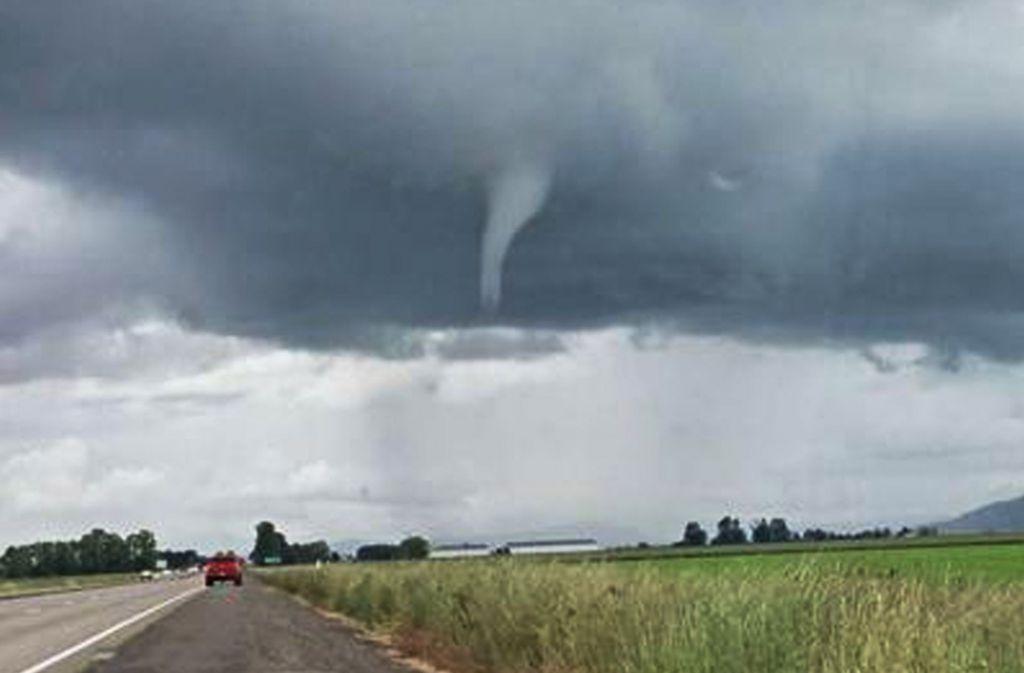 Neben Alabama wurden auch Gebiete im benachbarten Georgia von den Tornados getroffen. Foto: James Lally/AP