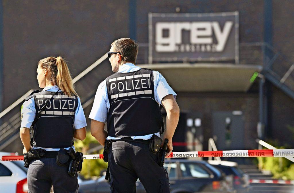 Gute Einstellungschancen: die Polizei sucht Nachwuchs Foto: dpa