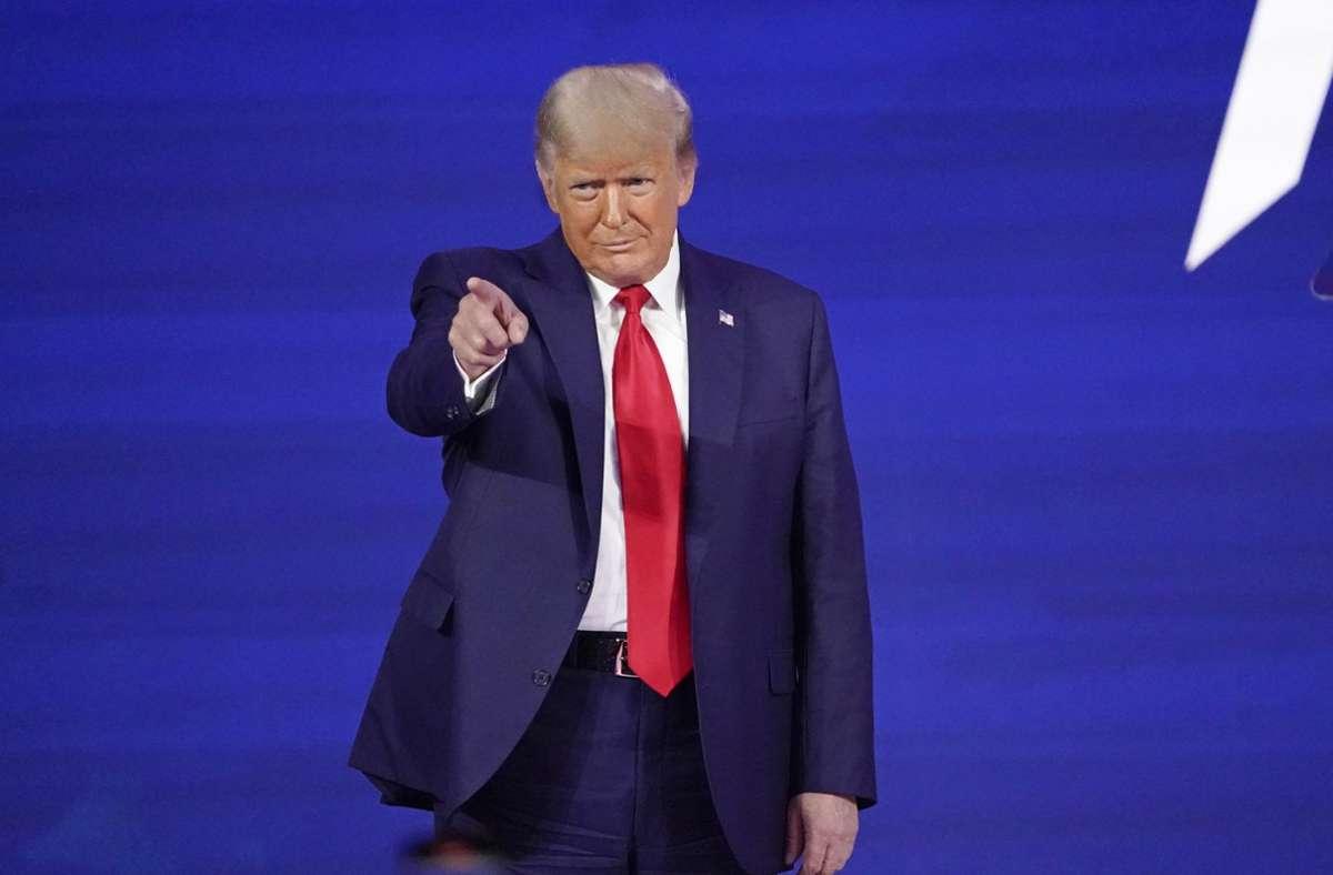 Trump werde in zwei bis drei Monaten mit einer eigenen, neuen Plattform in den Bereich Social Media zurückkehren, sagte sein Berater (Archivbild). Foto: dpa/John Raoux