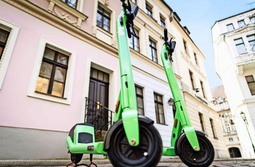 E-Scooter startklar für die  neue Saison
