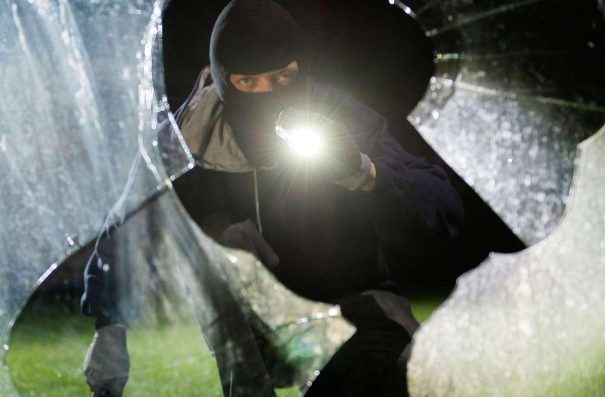 Einbrecher waren in der Nacht auf Sonntag in Herrenberg zu Gange. Foto: dpa/Daniel Maurer