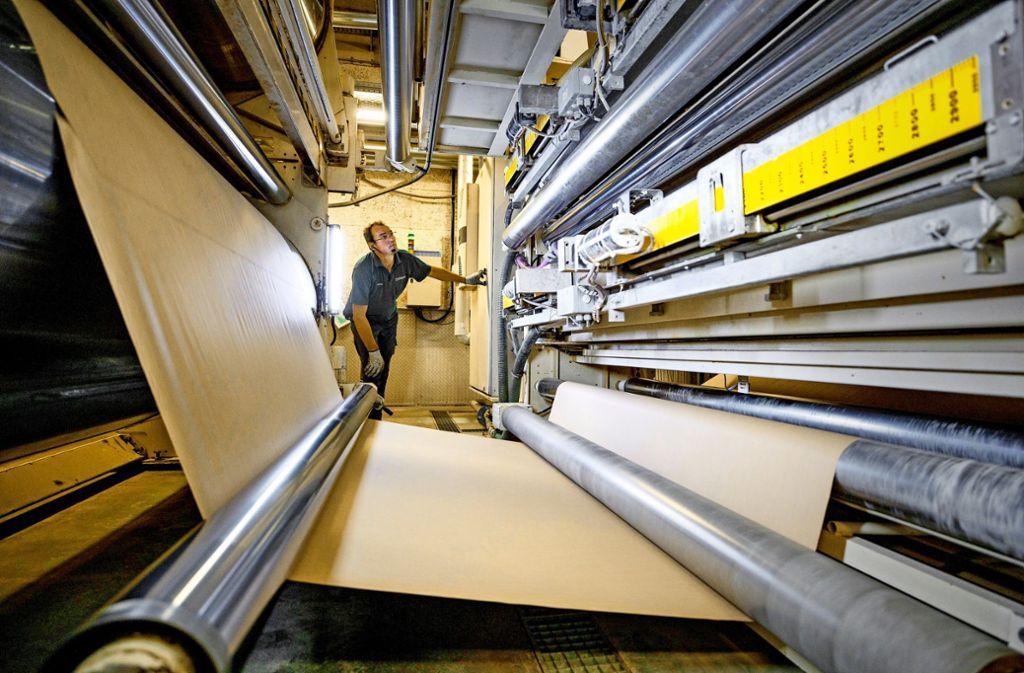 Das Werk in Remshalden ist der Hauptsitz des Unternehmens. Foto: Gottfried Stoppel