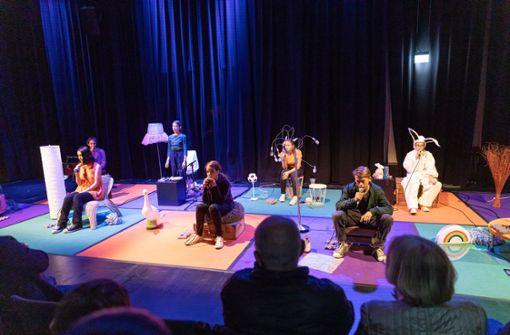 DAT-Jugendensemble feiert Theaterpremiere