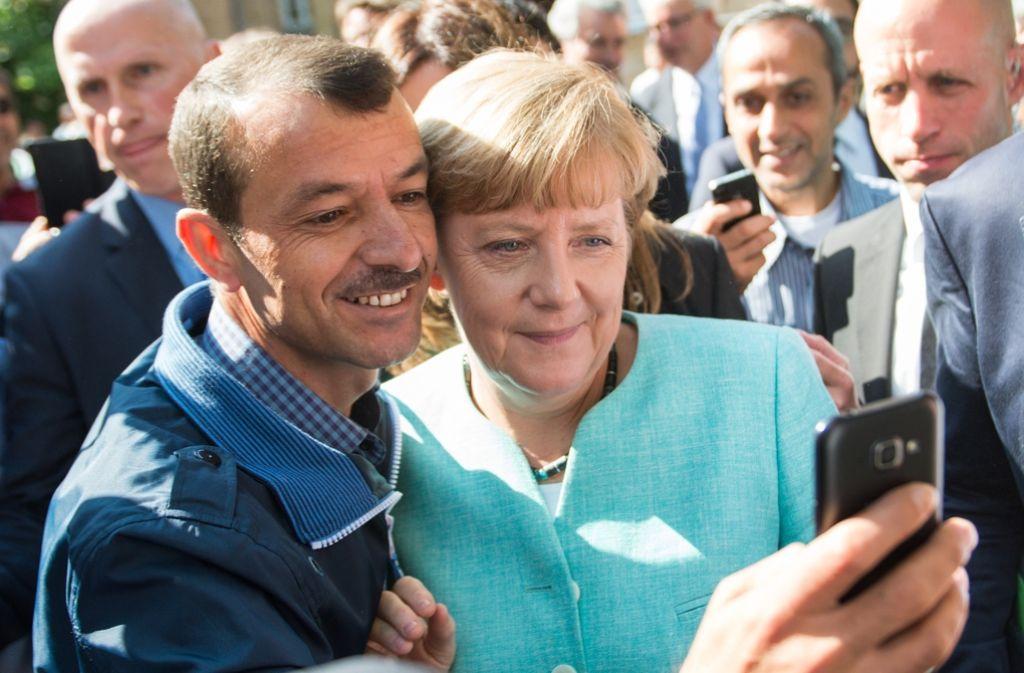 Mehrere CDU-Spitzenpolitiker haben betont, dass sie mit einer erneuten Kandidatur von Kanzlerin Angela Merkel bei der Bundestagswahl 2017 rechnen. Foto: dpa