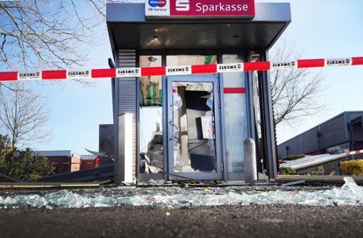 Geldautomaten-Gangster auf dem Vormarsch