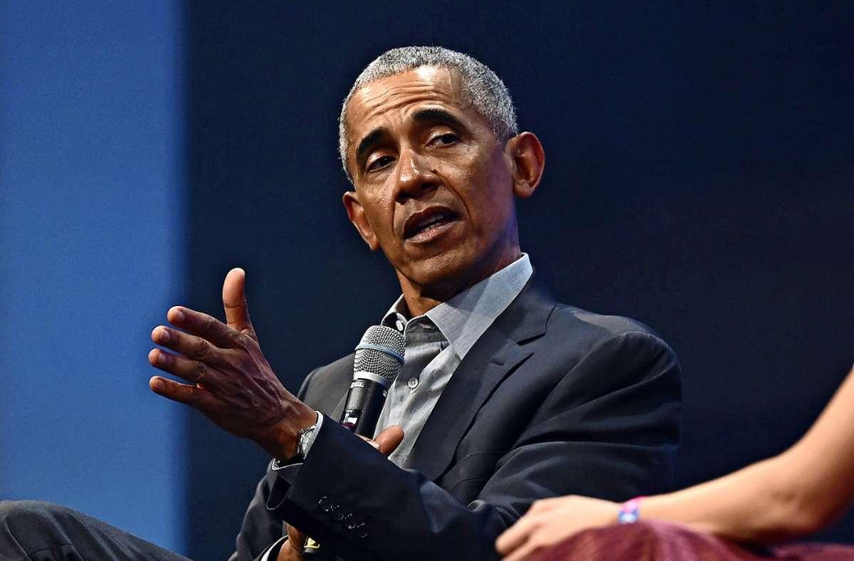 Der erste Teil der Memoiren von BarackObama erscheint zweiWochen nach der diesjährigenUS-Wahl. Foto: AFP/CHRISTOF STACHE