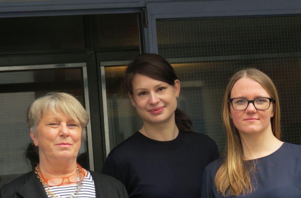 Fatima Hellberg, Hannelore Paflik-Huber und Romy Range vom Künstlerhaus West arbeiten an einem neuen Konzept. Foto: Archiv/ Sybille Neth